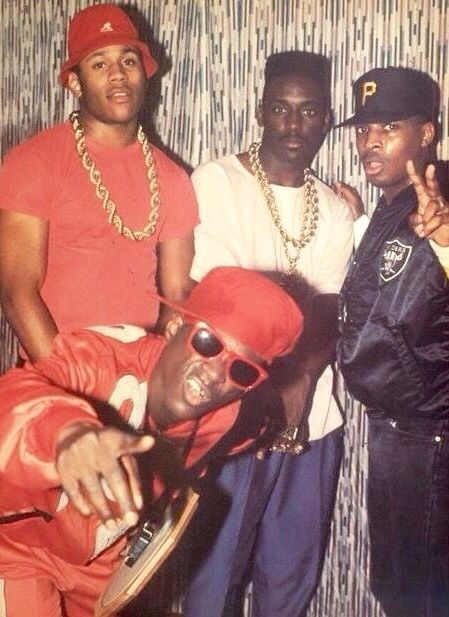 Yeah boyeee!!! Flava Flav Chuck D from Public Enemy, LL Cool J, and Big Daddy Kane in full effect