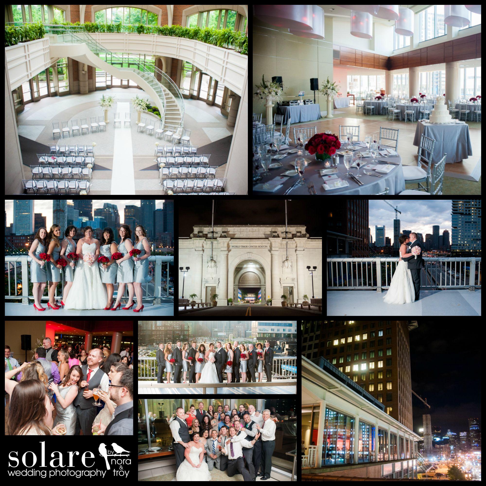 Seaport World Trade Center Boston Wedding Photography