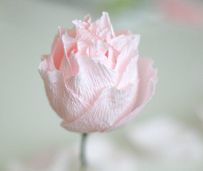 Flower making using crepe paper forteforic flower making using crepe paper paper peony diy pinterest paper peonies paper flower tutorial mightylinksfo