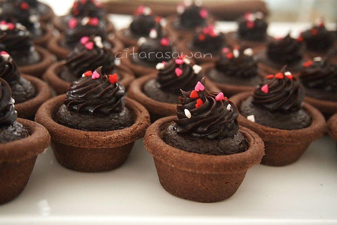 Double Chocolate Cheese Tart ~ Recipes | Resepi Citarasa Wan ...