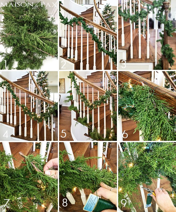 How to Make Cheap Garland Look Expensive | Diy christmas garland, Christmas greenery, Christmas ...