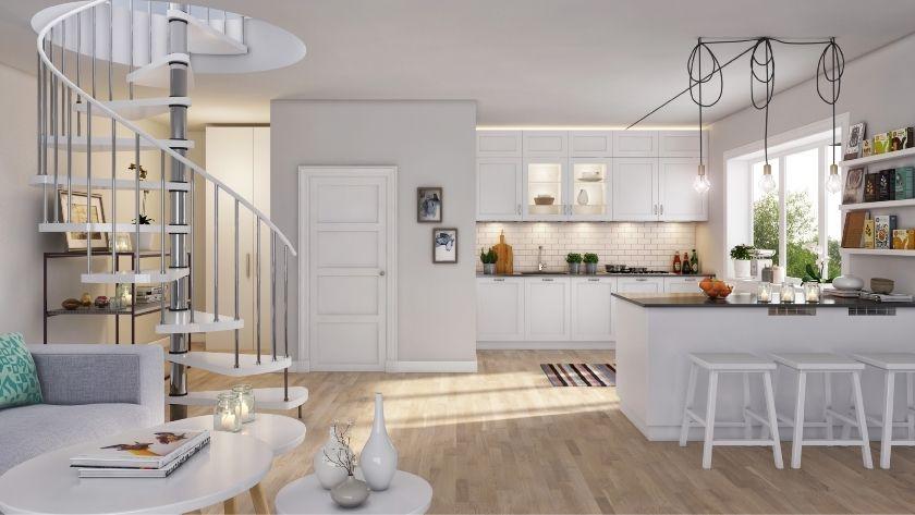 ek accent 3 stav naturell arena parkett ljust tr golv k ksgolv ljus parkett k k nordic. Black Bedroom Furniture Sets. Home Design Ideas
