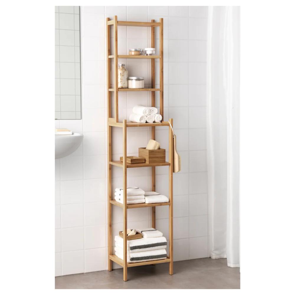 Ikea Badezimmer Regal Holz