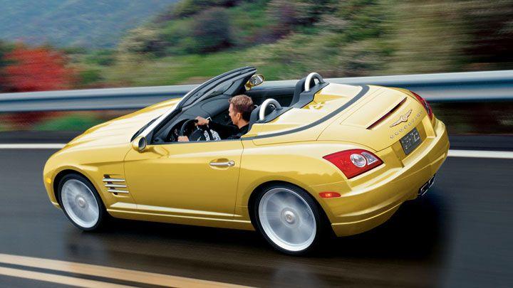 Yellow Looks Good On A Crossfire Chrysler Crossfire Chrysler
