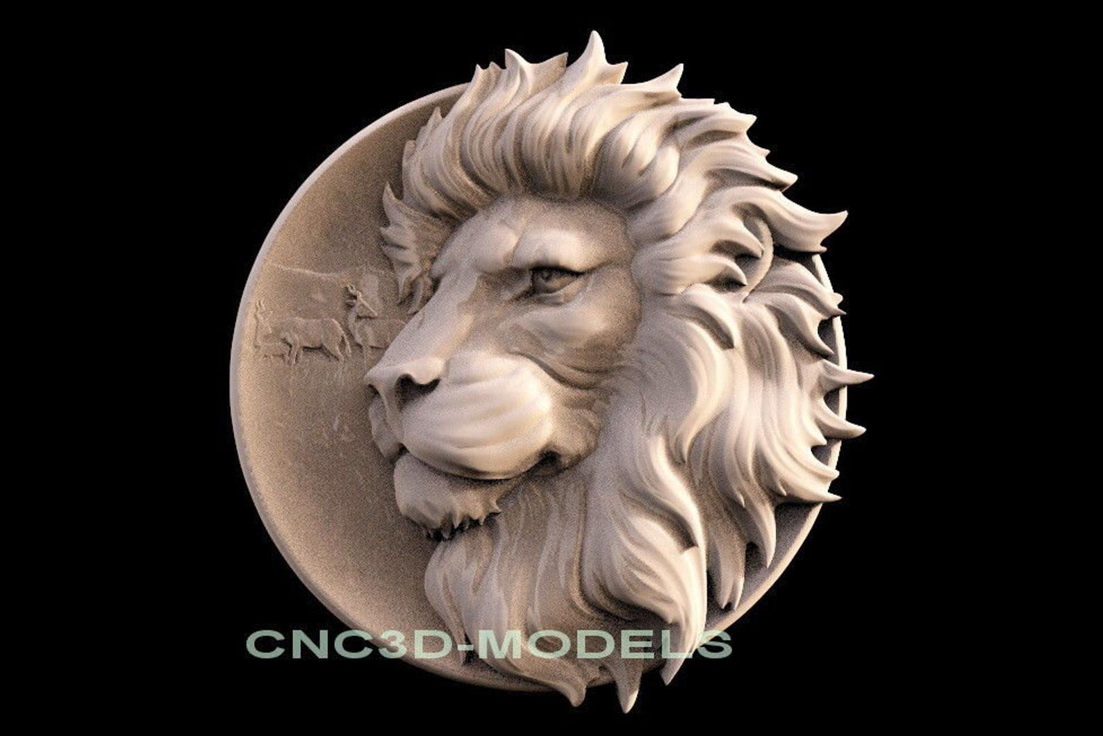 3D STL* Model for CNC Router Engraver Carving Machine