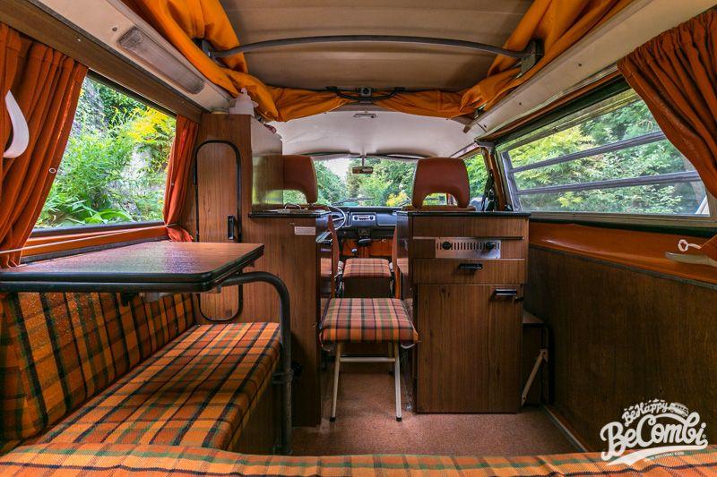 a l int rieur de notre combi westfalia 1975 van interior. Black Bedroom Furniture Sets. Home Design Ideas