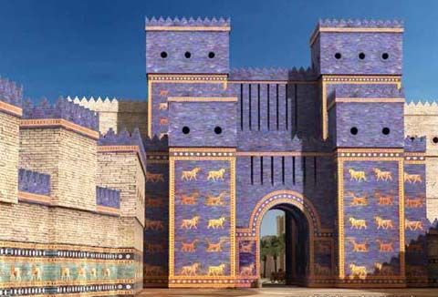 Ancient Mesopotamian Art And Architecture ancient iraq - the ancient world of mesopotamia | architecture