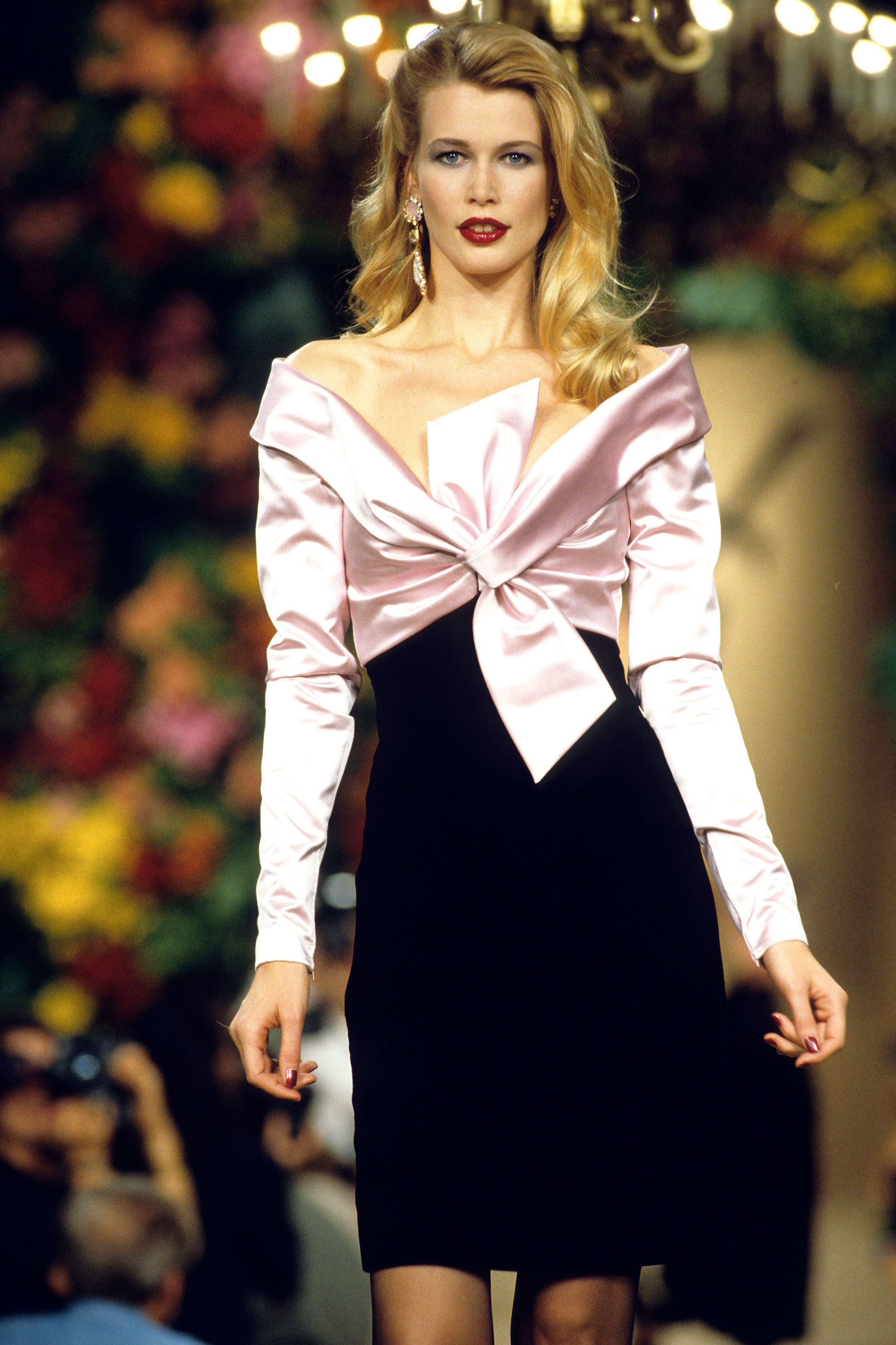 First look: Claudia Schiffer for YSL