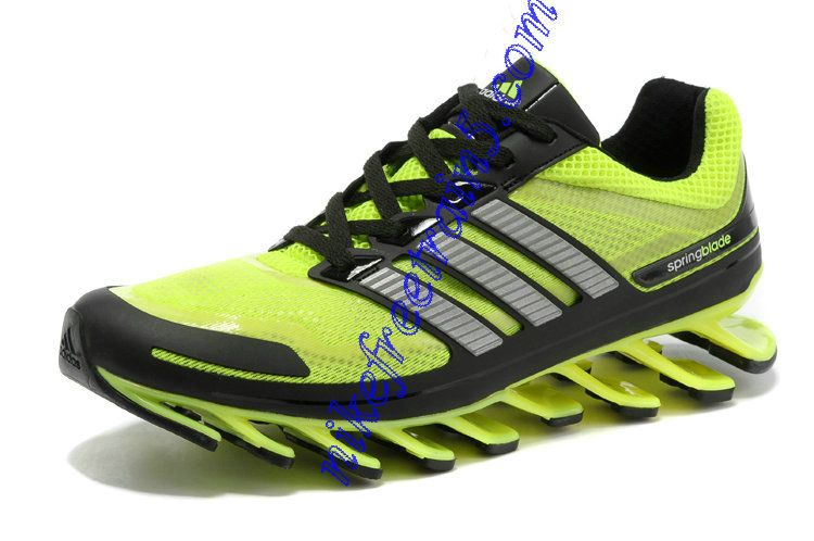 Black Shoes Green Men Neon For Adidas Springblade Silver New QxBeWCrod