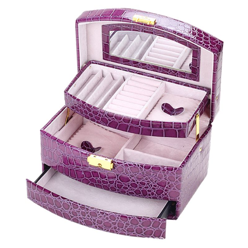 GUANYA Large Jewellery gift box Storage Organizer Bracelet Ring