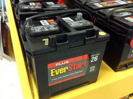 $99 car battery at Walmart   car battery Elon Musk   Lead