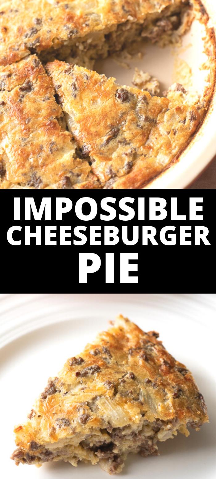 BISQUICK IMPOSSIBLE CHEESEBURGER PIE RECIPE