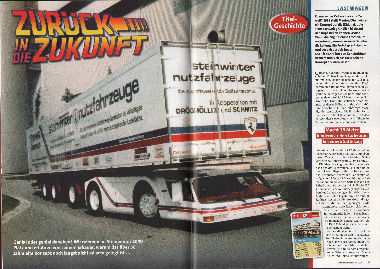 1983 Steinwinter Supercargo 2040 Cab Under Concept Concept Album Concept Cab
