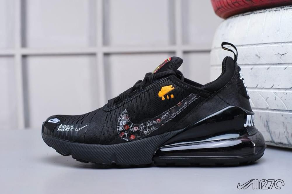 reputable site 659e1 bb906 Nike Outfits the Air Max 270 in Black   Neon Green   nice nike sneakers in  2019   Nike air max, Sneakers, Nike