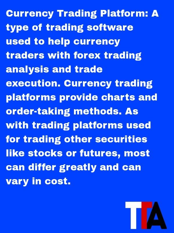 The Daily Definition Currency Trading Platform A Type Of