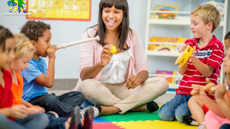 day care in a daycare centre with kids Family child care
