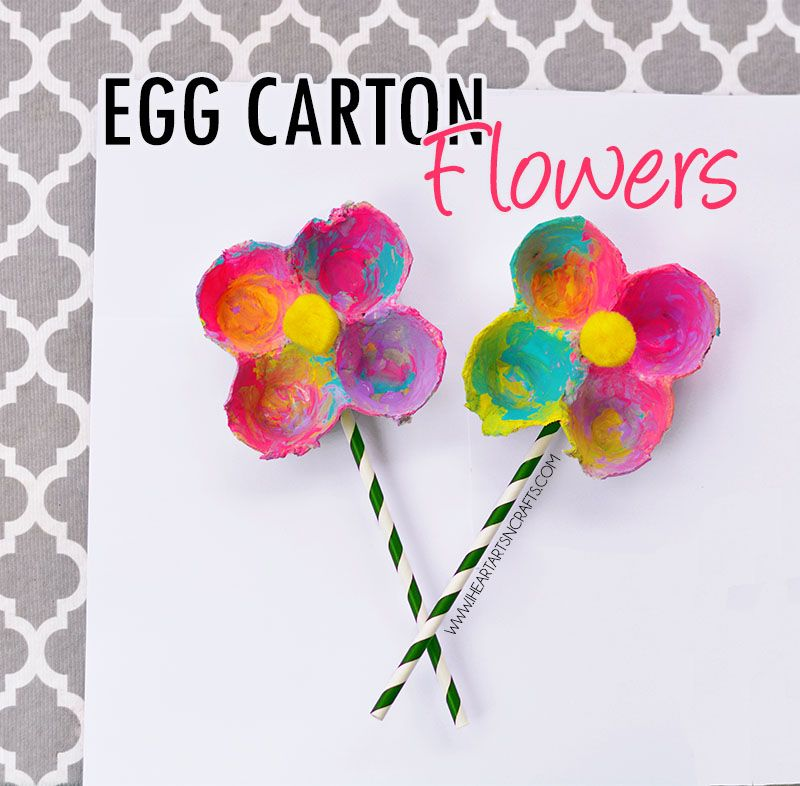 Puffy paint dr seuss craft with fingerprint lorax egg Egg carton flowers ideas
