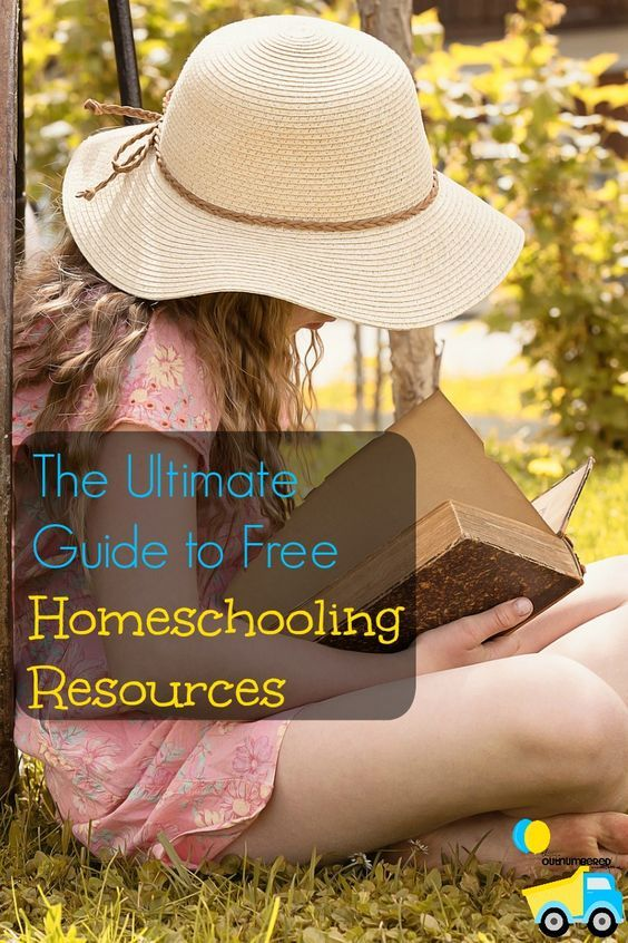 The Ultimate Guide to Free Homeschooling Resources! I spent hours searching the internet, (and let's be honest, Pinterest) and this is one huge list of over 60 free homeschooling resources all in one place!