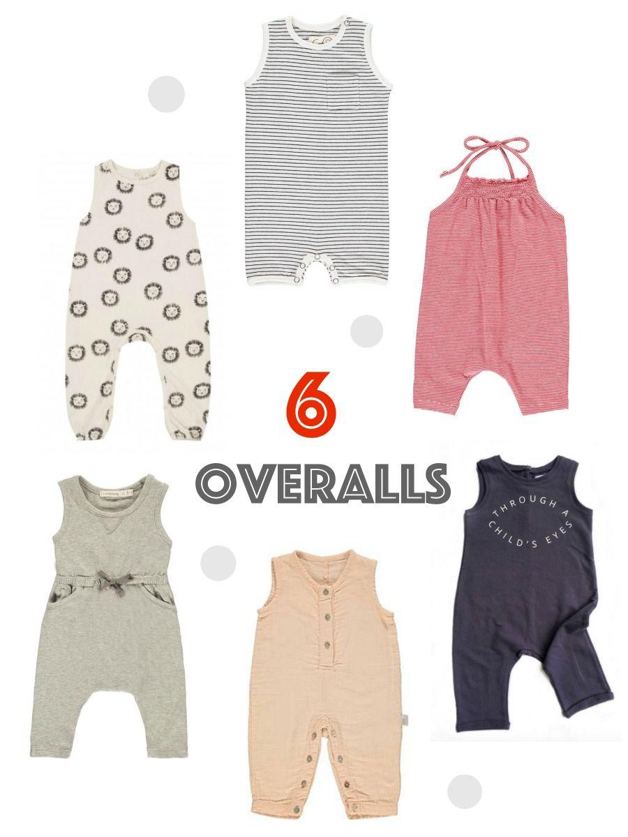 6 overalls für Kinder