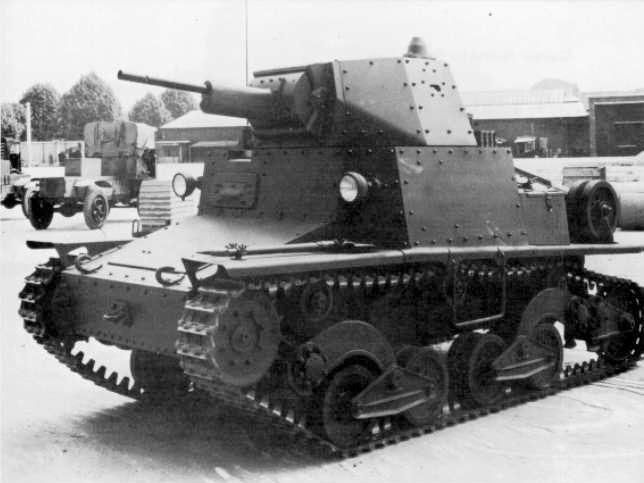 Fiat-Ansaldo L6/40 in 1940/ The Fiat L6/40 was a light tank used by the Italian…