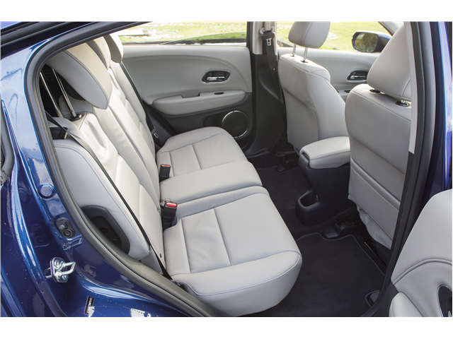2017 Honda HRVThe rear seat reclines, and the front
