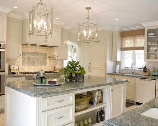 Manchester Tan Design Pictures Remodel Decor And Ideas Traditional Kitchen Granite Kitchen Island Kitchen Window Coverings