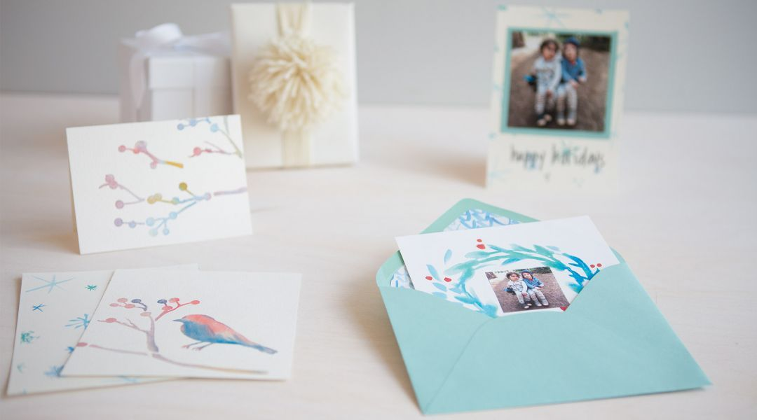 How To Make Watercolor Cards By Courtney Cerruti Creativebug