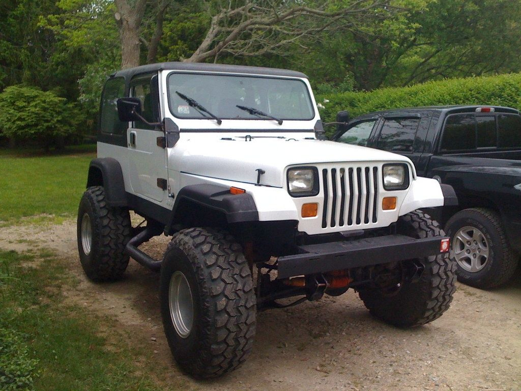 White Yj Jeep Yj Jeep Jeep Wrangler Yj