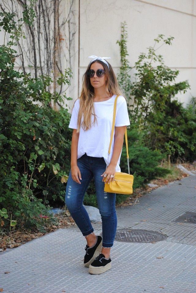 Looks con bolsos amarillos Trendtation | Bolso amarillo