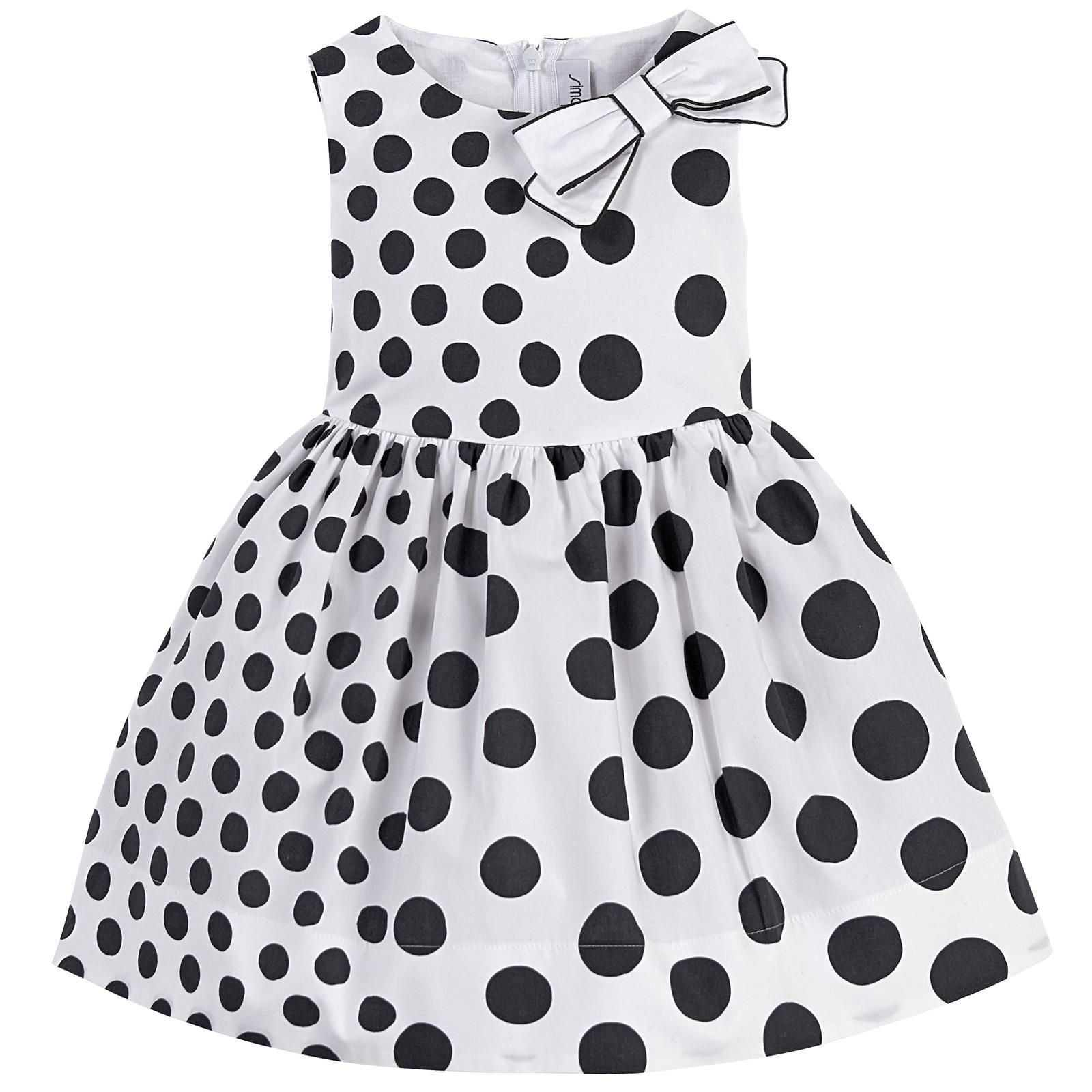 US Vintage Toddler Kids Baby Girls Clothes Ruffle Swing Dress Dots Party Dresses