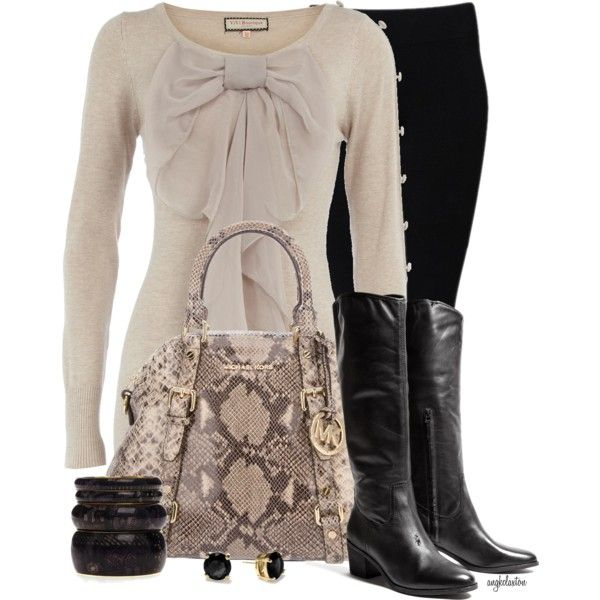 """School Days #177"" by angkclaxton on Polyvore"