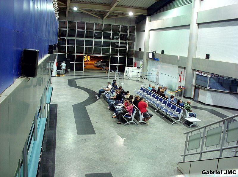 Aeroporto Internacional De Rio Branco Portao De Desembarque