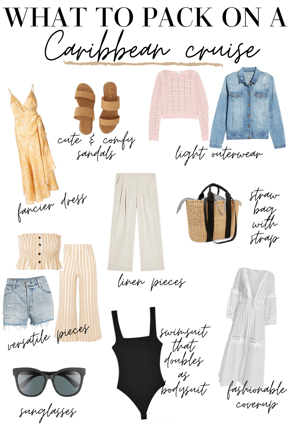 Cruise Outfits | What to Pack for a Caribbean Cruise - MY CHIC OBSESSION