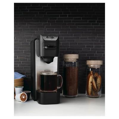 Mr Coffee Single Cup K Cup Coffee Maker Bvmc Sc100 Silver