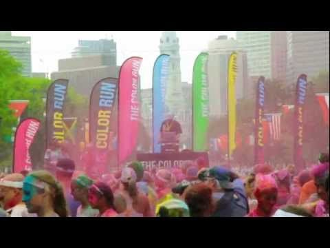 THE COLOR RUN *Philadelphia EXPLODES with 26,000 Color Runners!