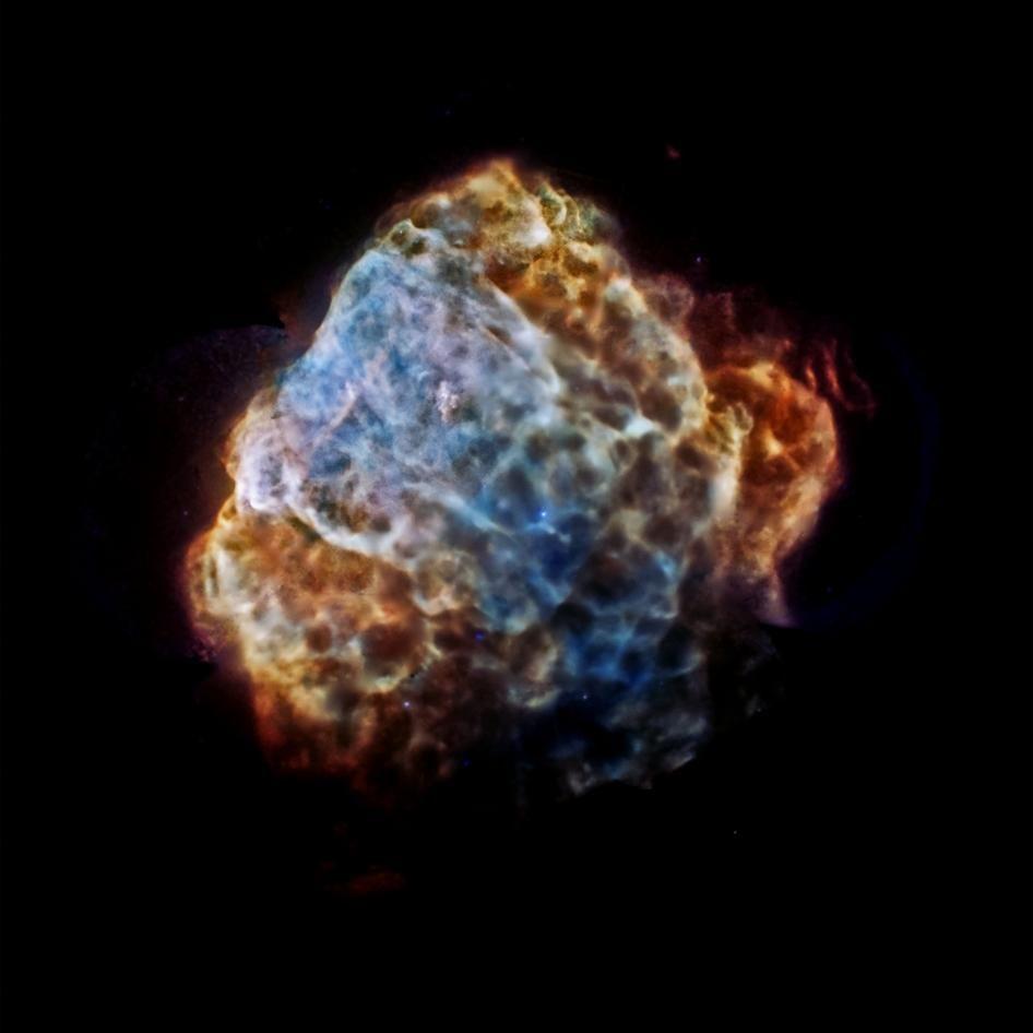 El Observatorio Chandra de Rayos X de la #NASA captó la explosión de una supernova