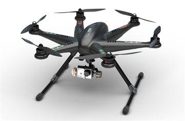Carbon Black Walkera TALI H500 GPS Hexacopter Drone! FPV