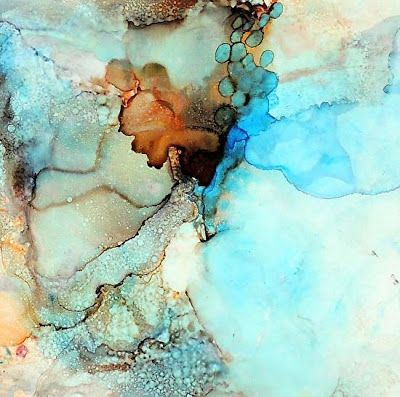 8x10 Alcohol Ink Art Color Alcohol Ink Art Alcohol Ink Painting Abstract Alcohol Ink Original Alcohol Ink 8x10 Abstract Art