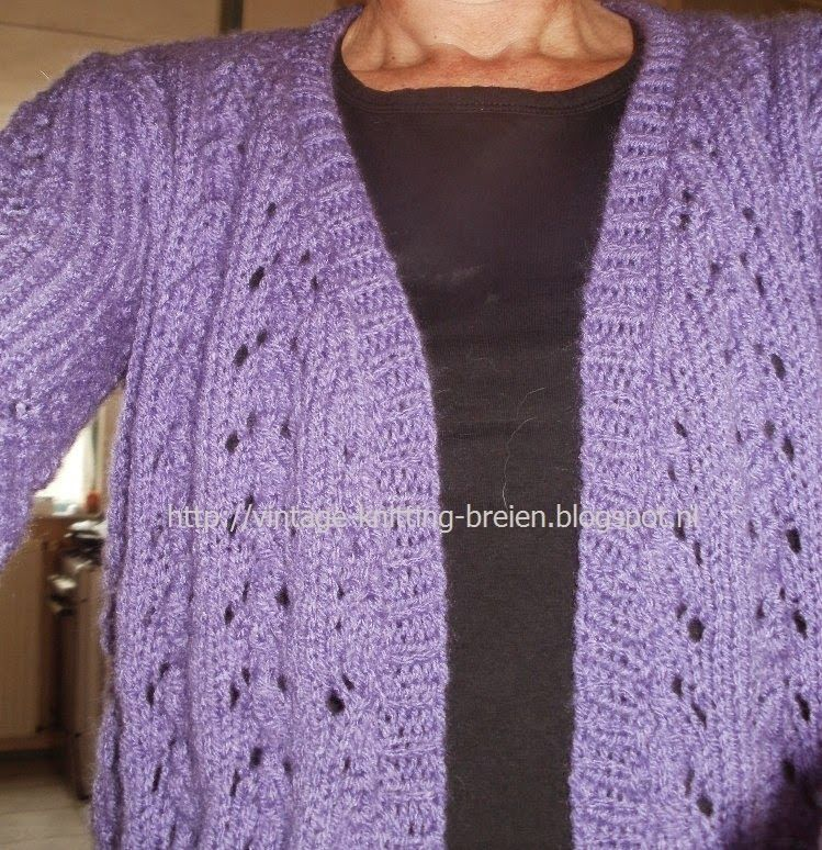 Betere Pin op Crochet - Cardigans and Sweaters BL-37