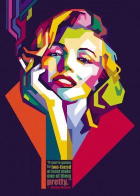 "Marilyn Monroe #Vector explore Pinterest""> #Vector #Design explore Pinterest""> #Design #Poster explore Pinterest""> #Poster… | Displate thumbnail"