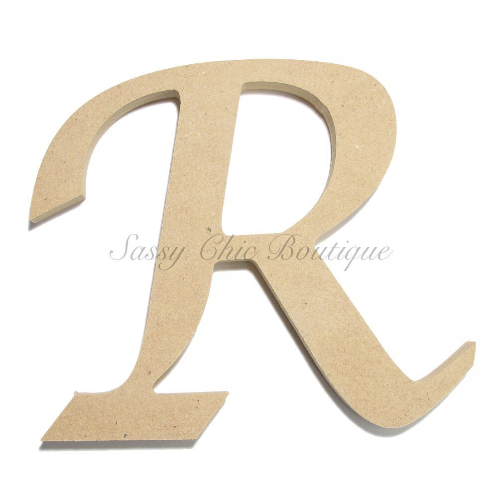6quot 36quot inch unfinished wooden letter uppercase quotr for 36 inch wooden letters