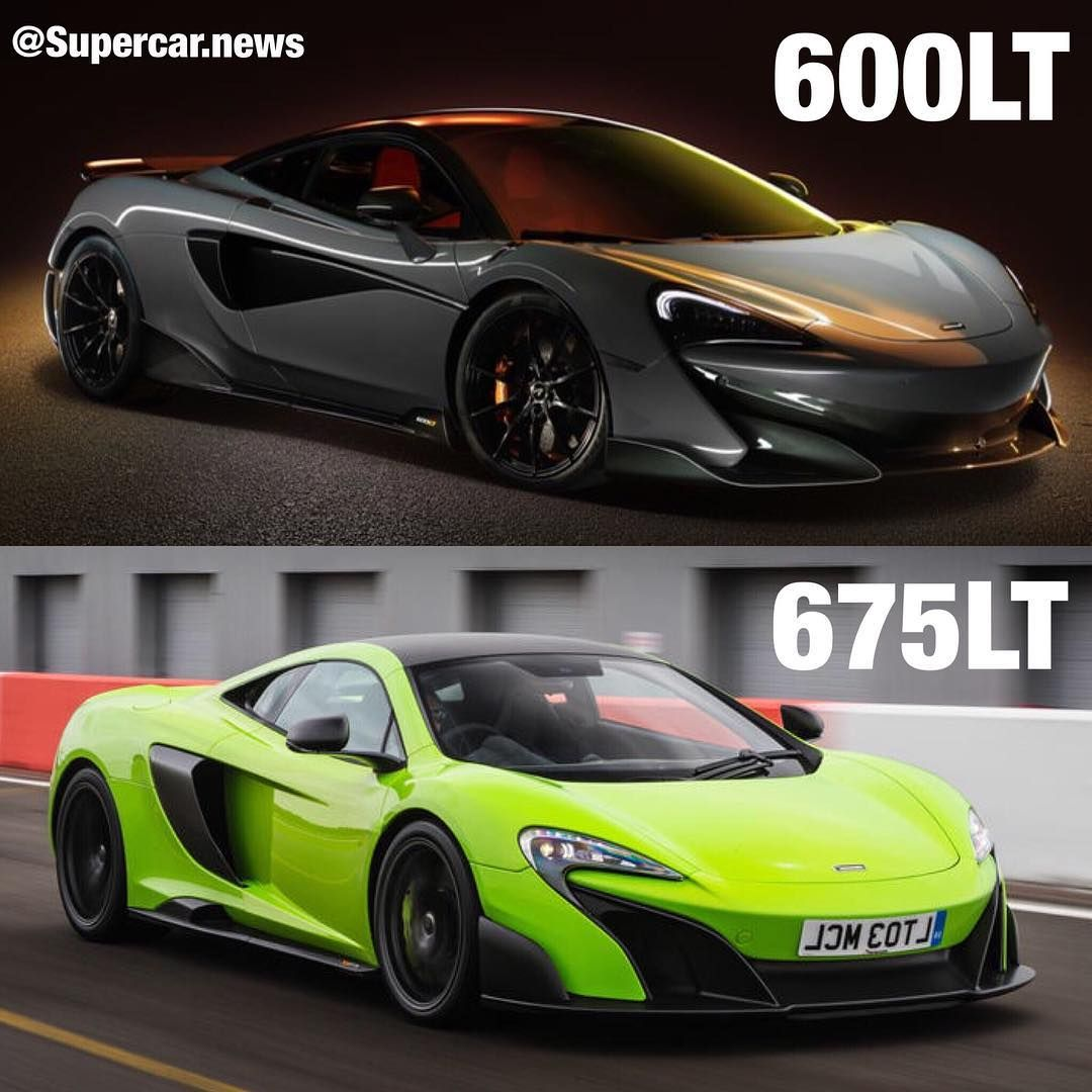 Porsche 918 Vs Mclaren P1: Mclaren 600LT VS 675LT Which Would You Choose ?!