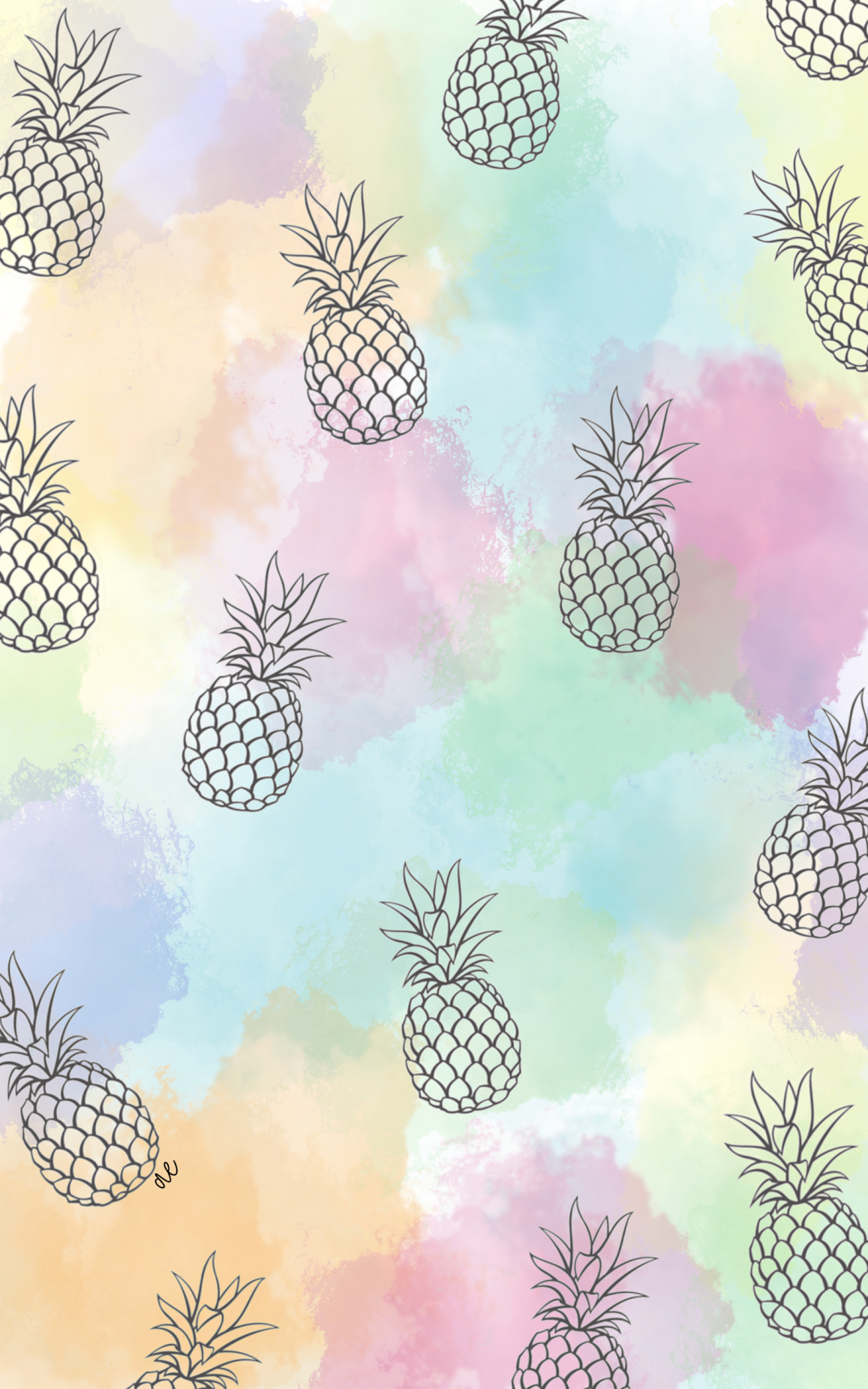 Pineapple Vacation Wallpaper In 2021 Iphone Wallpaper Pineapple Cute Pineapple Wallpaper Pineapple Wallpaper