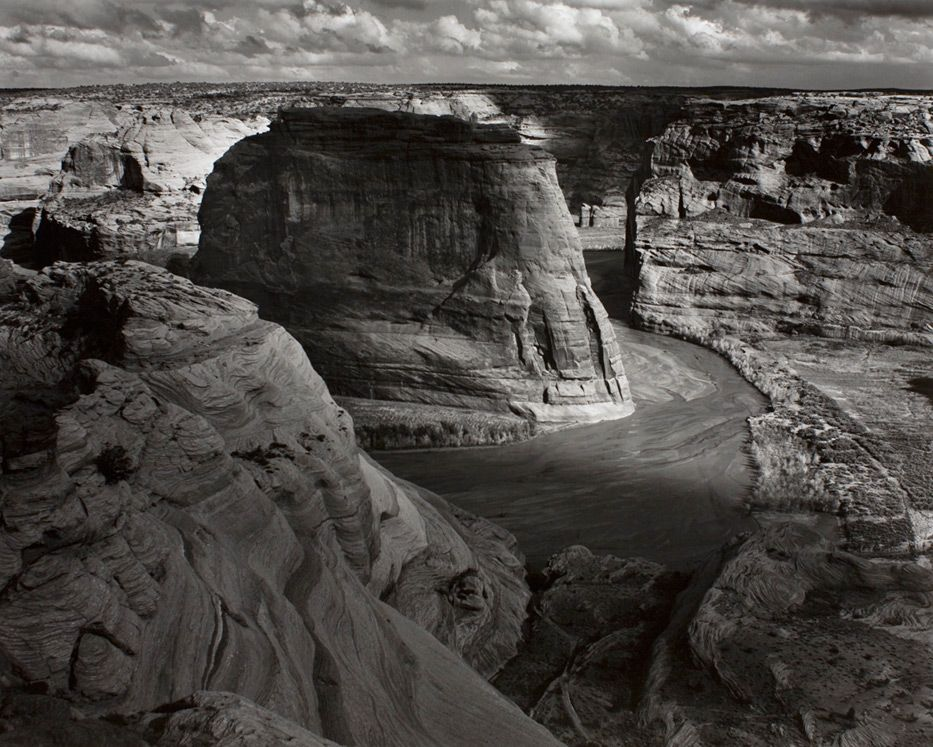 Ansel Adams, Canyon De Chelly National Monument, Arizona, 1947 ca. (printed 1952 ca.), silver gelatin print © 2011 The Ansel Adams Publishing Rights Trust courtesy of the Andrew Smith Gallery, Santa Fe, NM