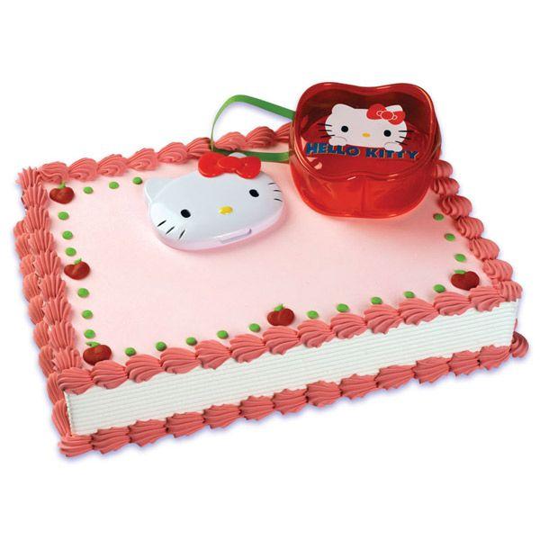 Hello Kitty Toys For Cakes : Hello kitty compact cake via publix cupcakes the