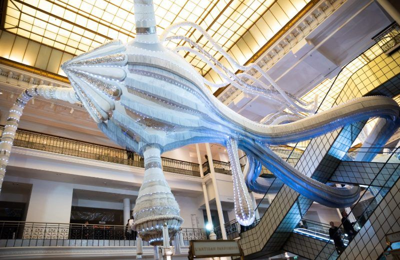 Le Bon Marché In Paris Shows New Art Installation By Joana