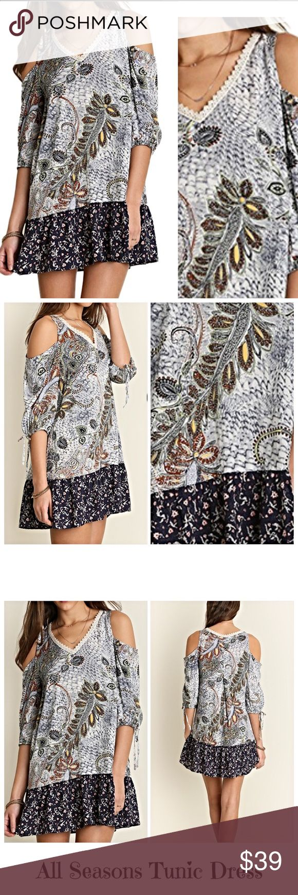 Spotted while shopping on Poshmark: Favorite Paisley Cold Shoulder ...