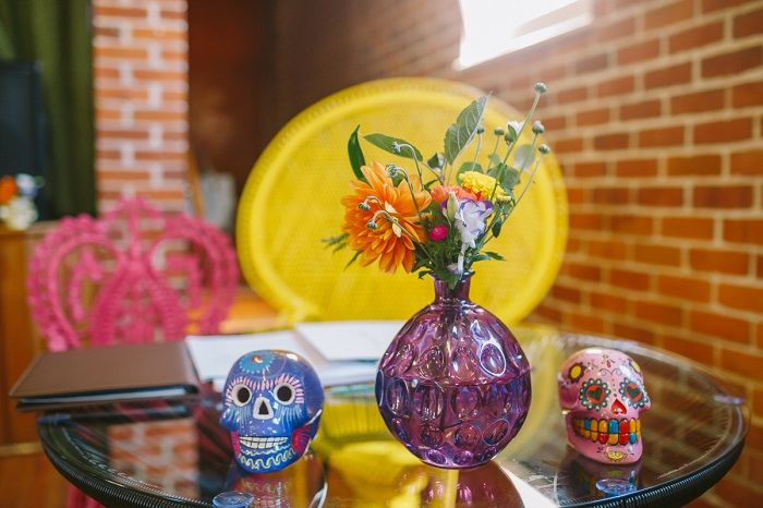 Mexican Inspired Wedding Decoration + 1950s themed wedding | I take you #wedding
