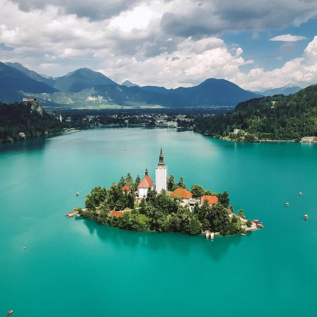 This Week S Lpfanphoto Was Taken By Girlgoneabroad At The Idyllic Lake Bled In Slovenia Who Fancies A Swim Every Lake Bled Lake Bled Slovenia Day Tours