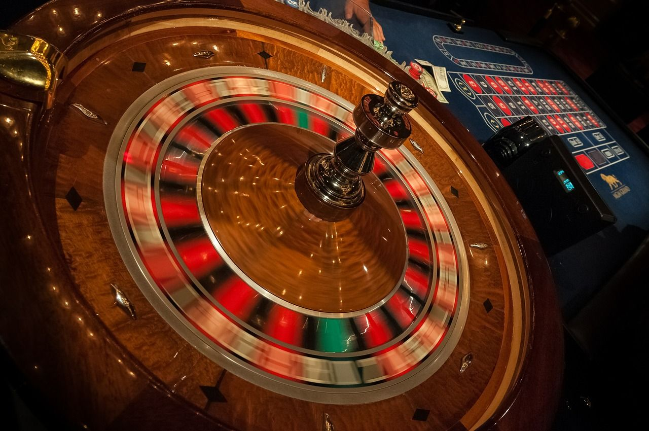 roulette table las vegas